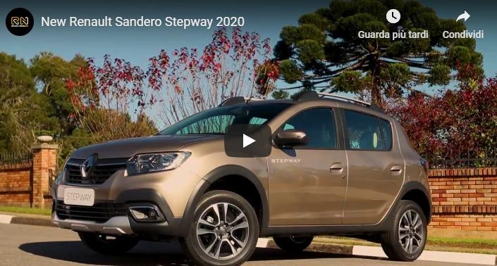 stepway 2020 nuova sandero dacia